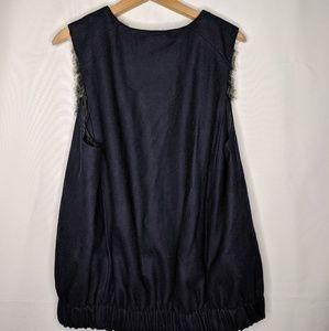 Anthropologie Jackets & Coats - Anthropologie Elevenses Faux Fur Vest Size Medium